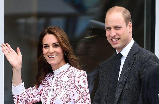Kate und William werden auf Neckar rudern