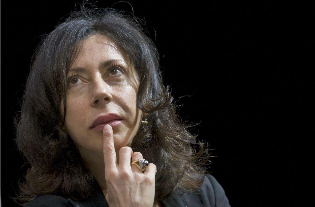 Dialoge wie Sprengsätze: die französische Autorin Yasmina Reza Foto: dpa