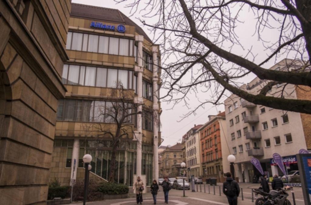 Das Allianz-Gebäude an der Uhlandstraße wird auch 2020 frei. Foto: Lichtgut/Max Kovalenko