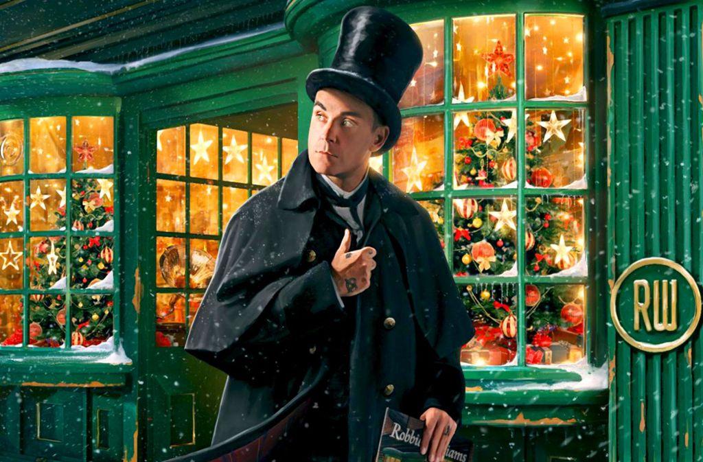 Nicht nur das Weihnachtsfest, sondern auch Robbie Williams steht vor der Tür. Foto: Sony