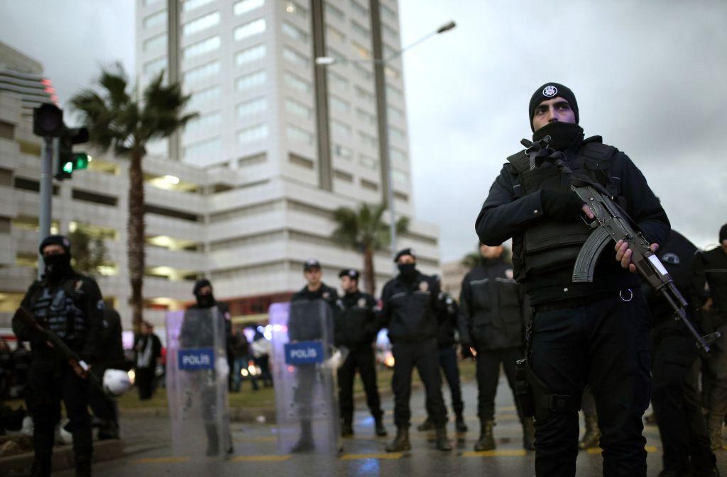 In Izmir hat es einen Anschlag gegeben. Foto: AP