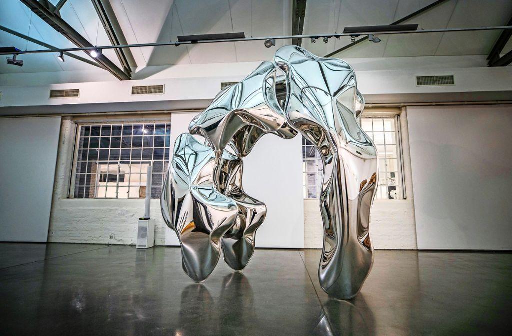 Thomas Kühnapfels Kunst lässt den Betrachter staunen und grübeln. Foto: Gottfried Stoppel