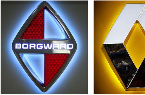 Renault will Borgward die  Raute verbieten