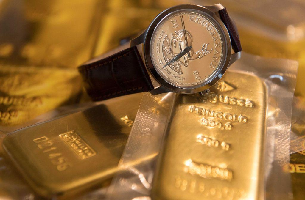 Gold als Wertanlage ist bei den Deutschen zurzeit sehr beliebt. Foto: dpa
