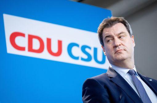 Beliebtheitswerte der Union steigen laut Umfrage weiter