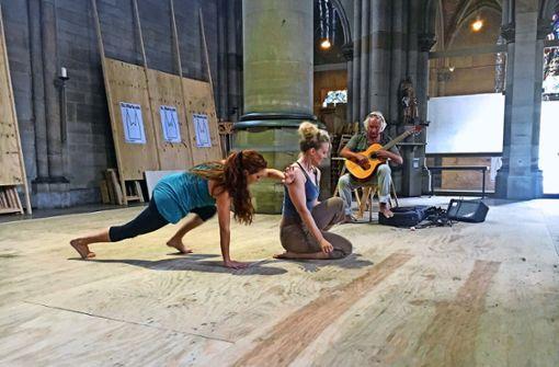 Quarks tanzen durch die Marienkirche