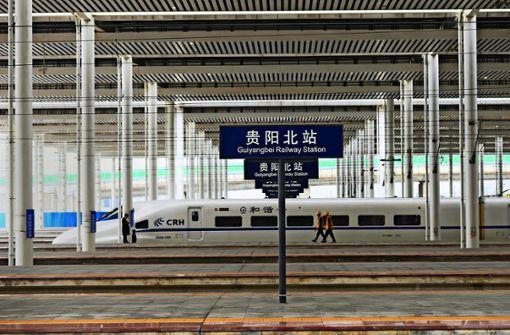 Die Deutsche Bahn will von China lernen