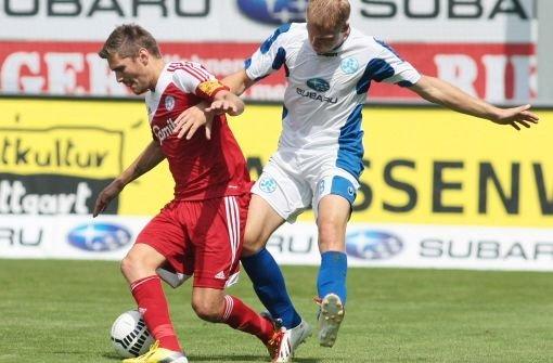 Stuttgarter Kickers holen ersten Punkt