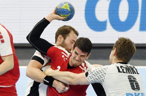 Deutsche erkämpfen sich Sieg gegen Schweiz