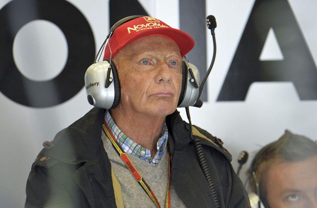 Niki Lauda hat erneut gesundheitliche Probleme. Foto: AP