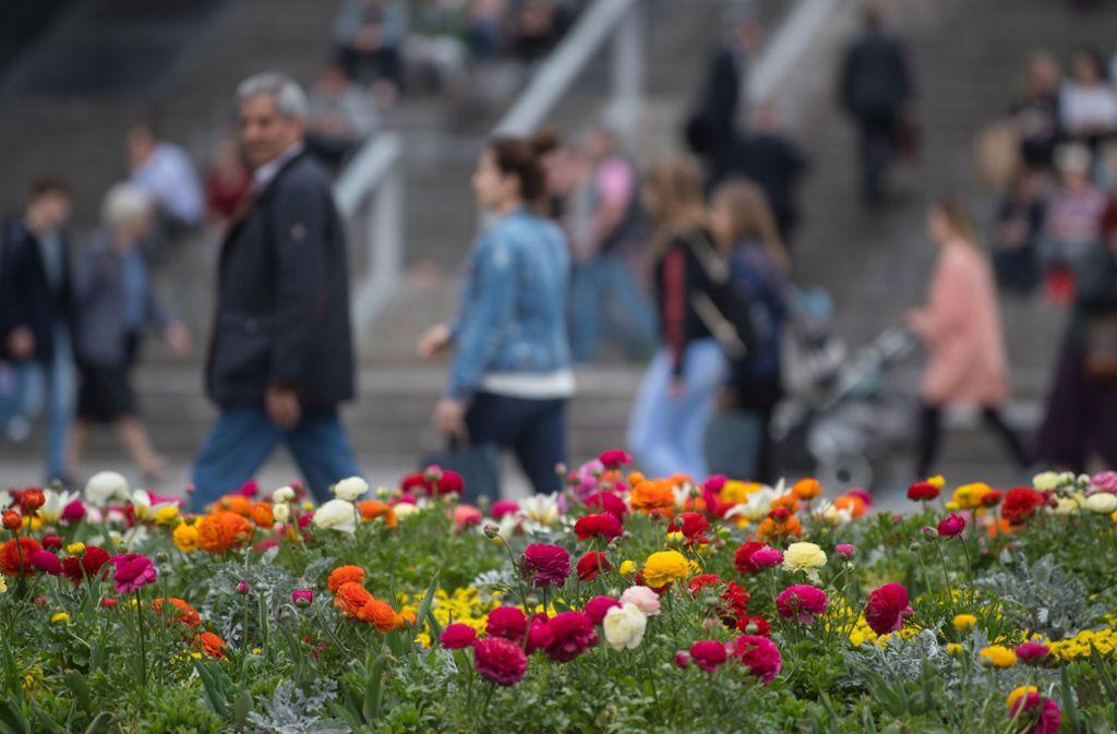In Stuttgart sind Temperaturen von mehr als 20 Grad möglich. Foto: dpa