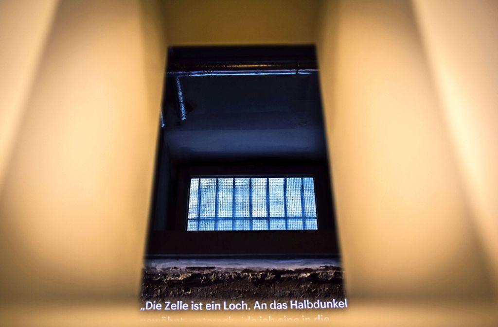 Der Blick in eine Gestapo-Zelle  in der heutigen Gedenkstätte. Foto: /Max Kovalenko