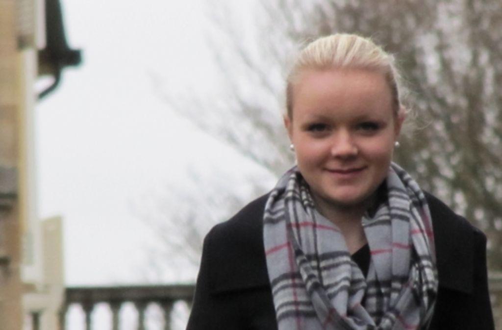 Dass sie erst 17 ist, muss Ann-Kahtrin Itzenga schon von sich aus erzählen. Foto: Sägesser