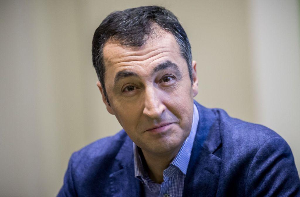 Cem Özdemir strebt den Posten des Fraktionschefs der Grünen im Bundestag an. Foto: picture alliance/dpa