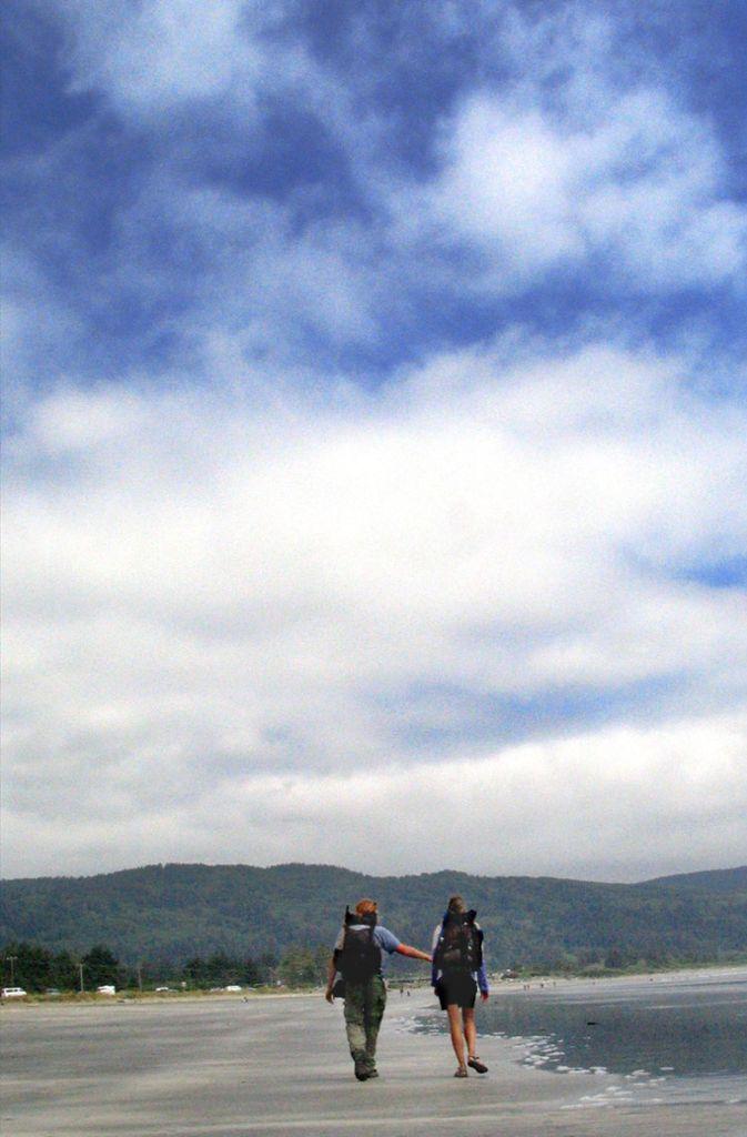 Die Tagesrouten waren lang: Zwanzig Kilometer zu Beginn, fünfzig am Ende. Foto: AP
