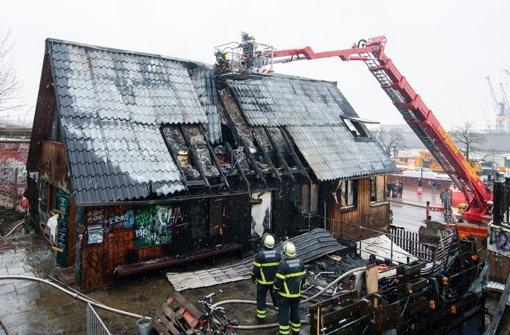 Feuer zerstört Hamburger Kult-Musikclub