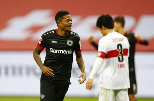 Torspektakel am Rhein – VfB geht mit 5:2 gegen Werkself unter