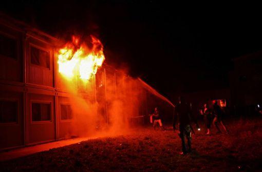 Brandstiftung in Asylheim gestanden