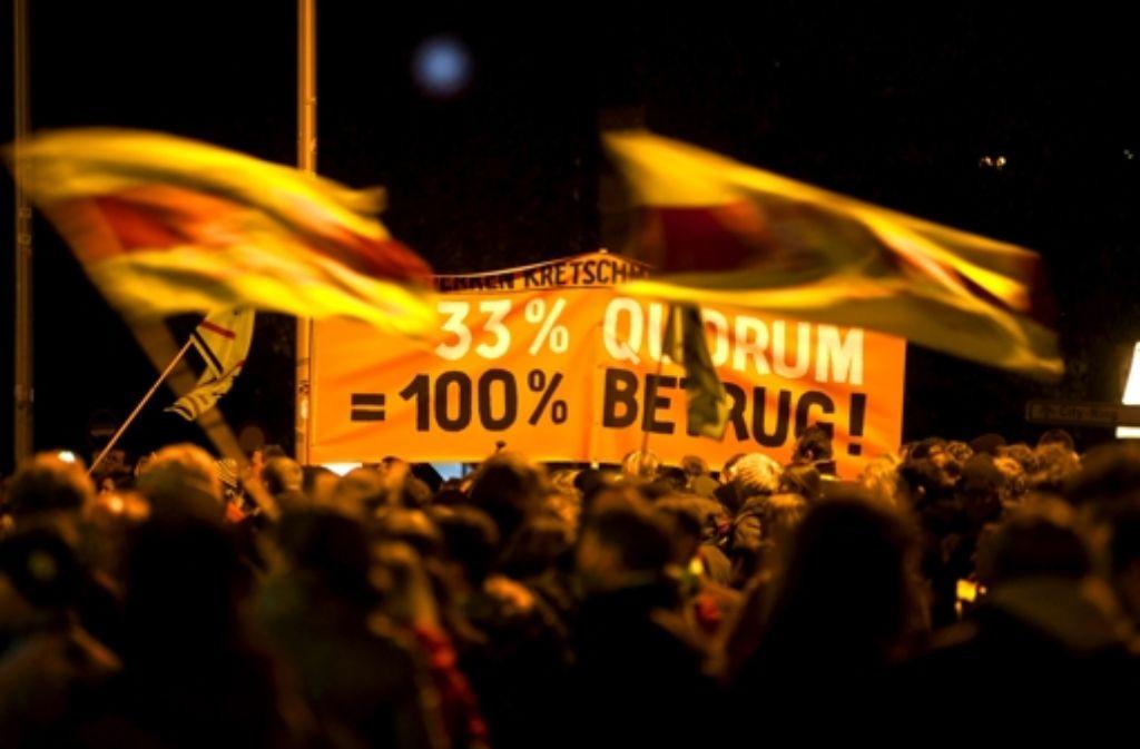 Die Hürden für Volksabstimmungen sind vielen Bürgern viel zu hoch. Foto: Stoppel