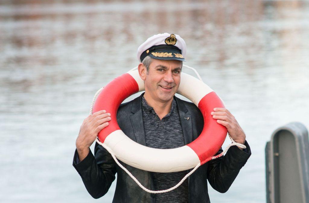 Wladimir Kaminer hat seine Erfahrungen aus mehreren Kreuzfahrten zu einem Buch verarbeitet. Foto: Michael Ihle