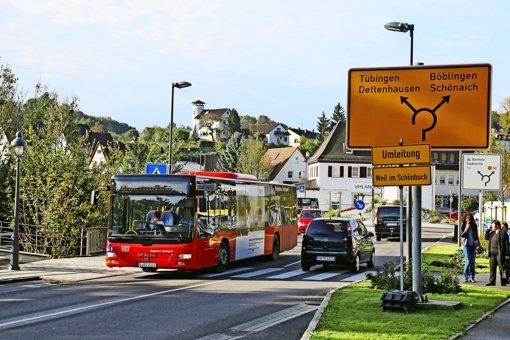 Filderstadt will  Bus nach Waldenbuch