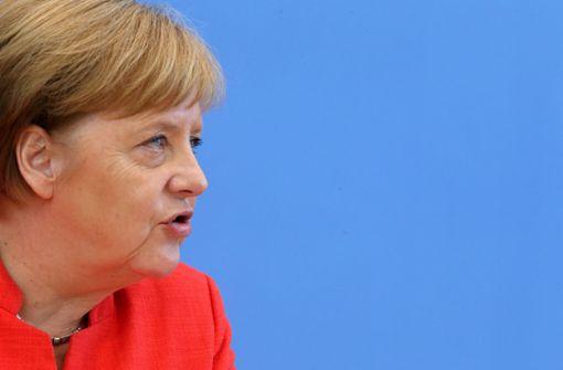 Merkels Wink mit dem  Zaunpfahl