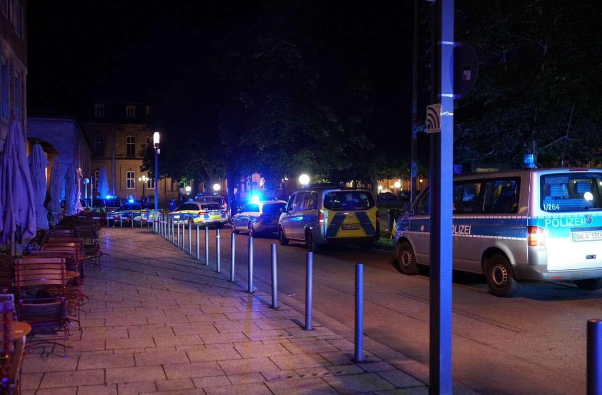 Die Aggressionen der Randalierer richteten sich in erster Linie gegen die Polizei. Foto: SDMG/Kohls