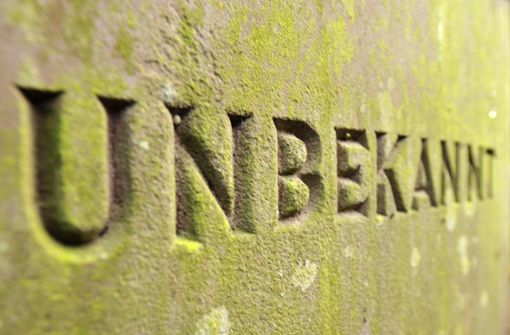 Unbekannter Toter aus Döffingen soll anonymes Sozialbegräbnis erhalten