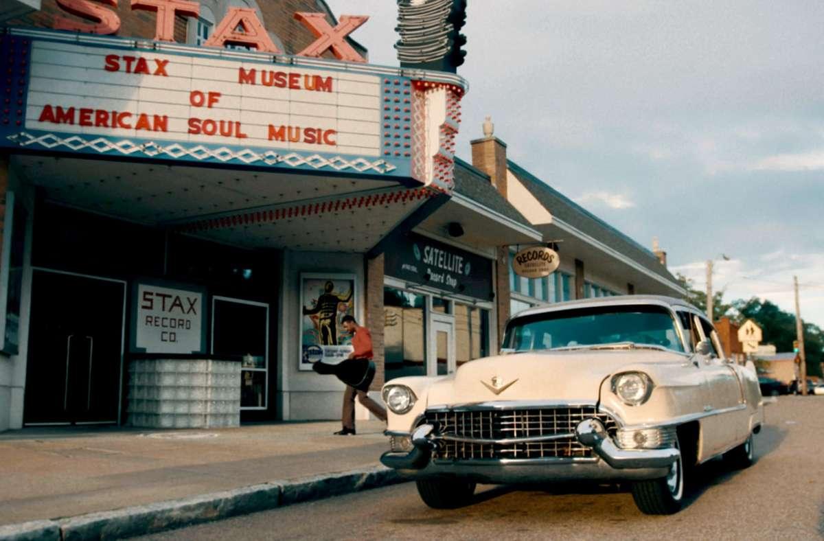 Heute ein Museum: Das Hauptquartier von Stax Records  in Memphis Foto: Jean-Gabriel Leynaud/Flair Production