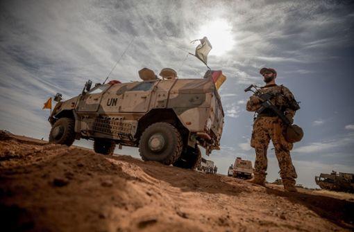 Gretchenfrage Militäreinsatz