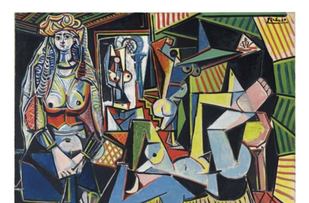 Das Gemälde, für das auf einer Auktion bisher das meiste Geld bezahlt wurde: Pablo Picasso - Die Frauen von Algier kam für 179,4 Mio Dollar (2015) unter den Hammer. Foto: Christies