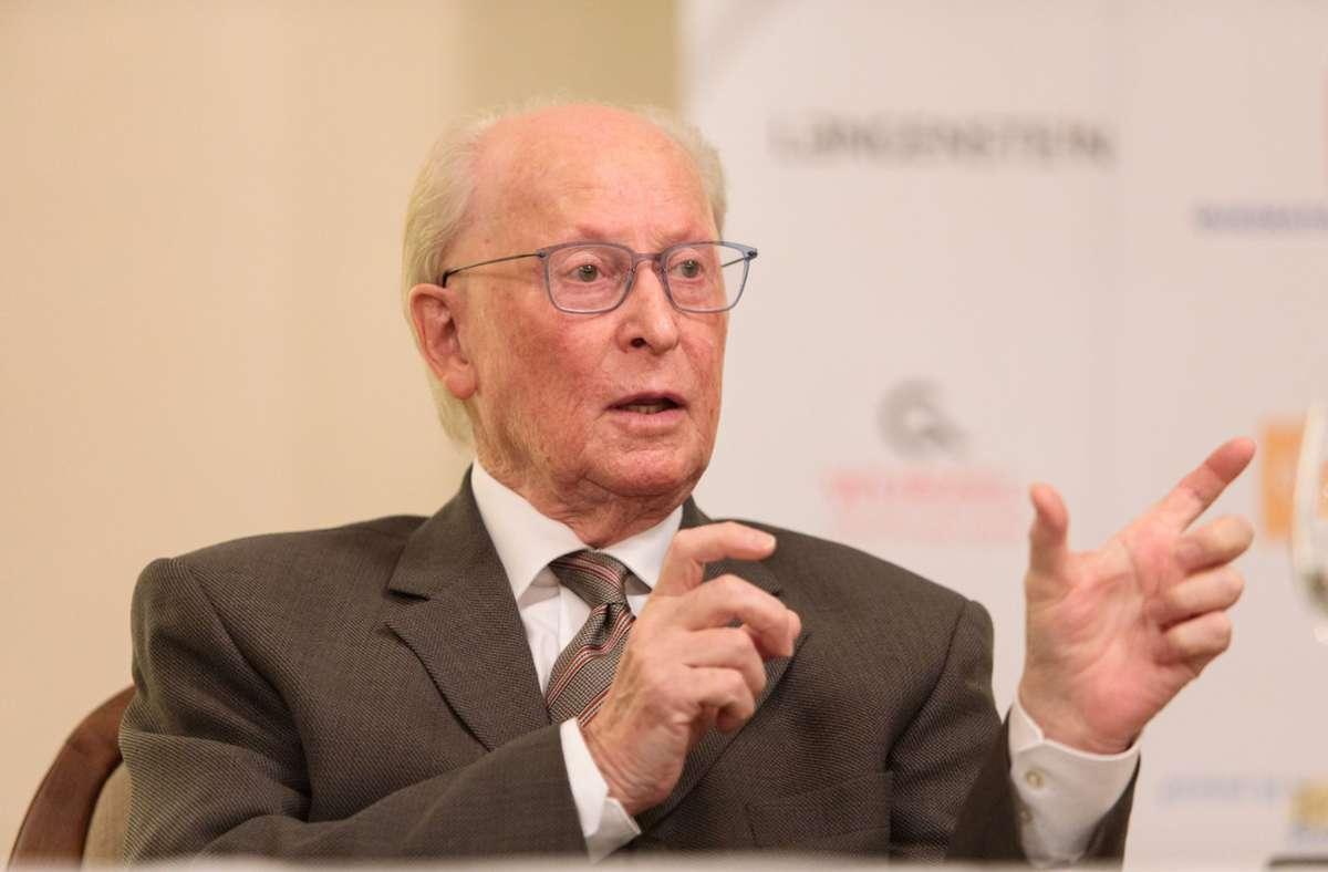 Jürgen Hubbert wurde 81 Jahre alt. Foto: Lichtgut/Verena Ecker