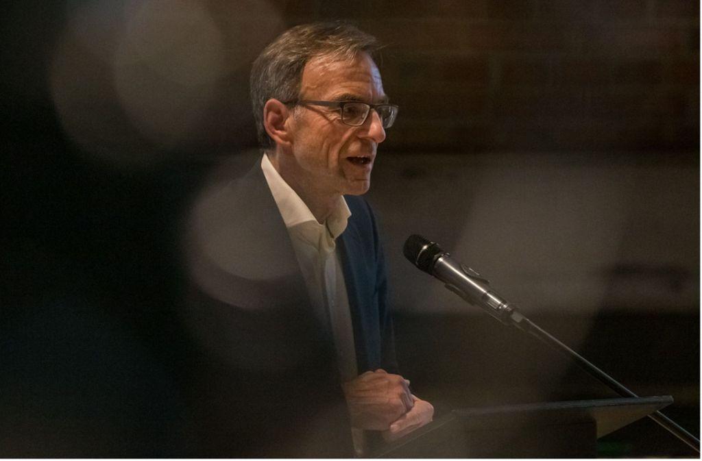 Im Blickpunkt: Bürgermeister Werner Wölfle Foto: Lichtgut/Julian Rettig