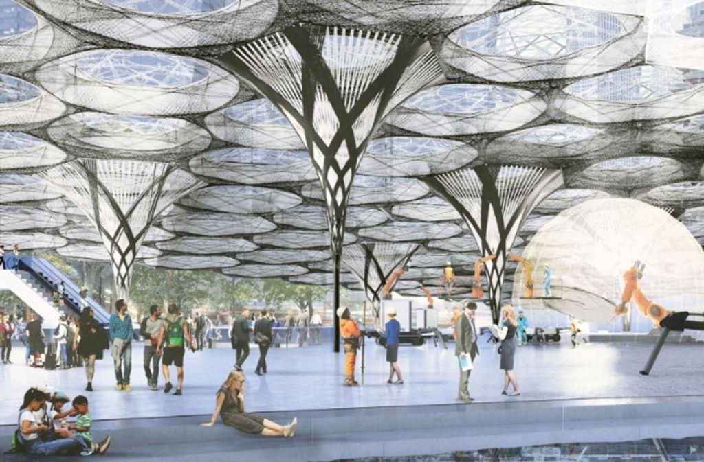 """Das Exzellenzcluster """"Integratives computerbasiertes Planen und Bauen für die Architektur"""" setzt auf einen ganzheitlichen und computerbasierten Ansatz, um Innovationen für das Bauschaffen zu ermöglichen. Foto: Uni Stuttgart"""