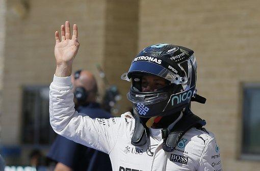 Rosberg verpasst Pole-Hattrick in den USA