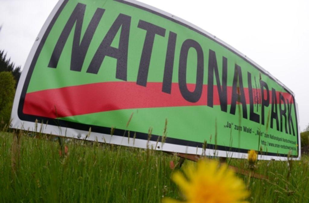 Ja zum Wald, Nein zum Nationalpark – die CDU im Landtag weiß die Gegner des von Grün-Rot geplanten Nationalparks  auf ihrer Seite. Die wichtigsten Fakten zum Nationalpark zeigen wir in der Fotostrecke. Foto: dpa