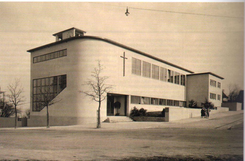 Die Brenzkirche, so wie sie ursprünglich aussah. Foto: Bauheft 01