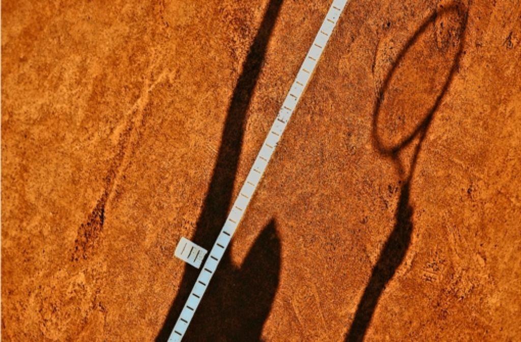 Die Schattenseite des Tennis Foto: Baumann