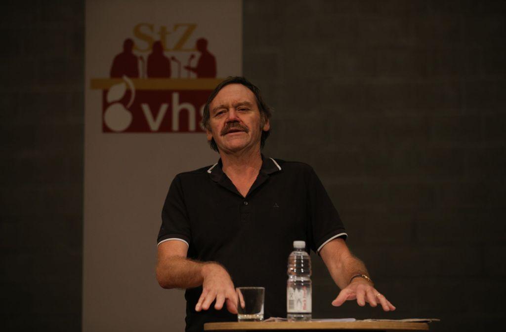 Klaus Zintz hat über die Bewegung Fridays for Future gesprochen. Foto: Leif Piechowski