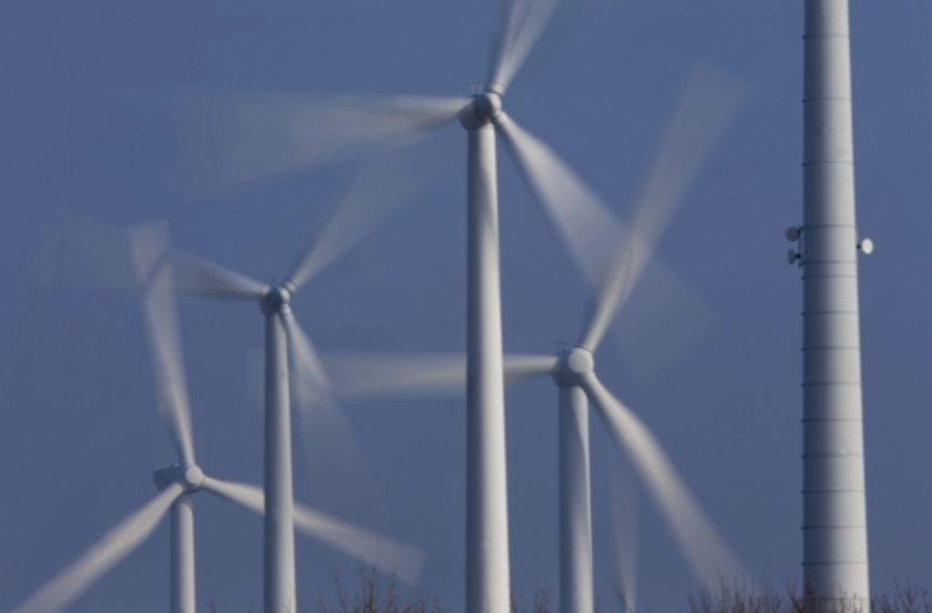 In naher Zukunft werden auch in der Region mehr Windräder rotieren. Foto: dpa