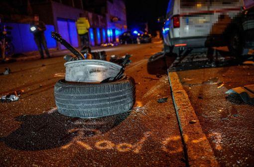 20-Jähriger baut Unfall – sechs Autos zerstört