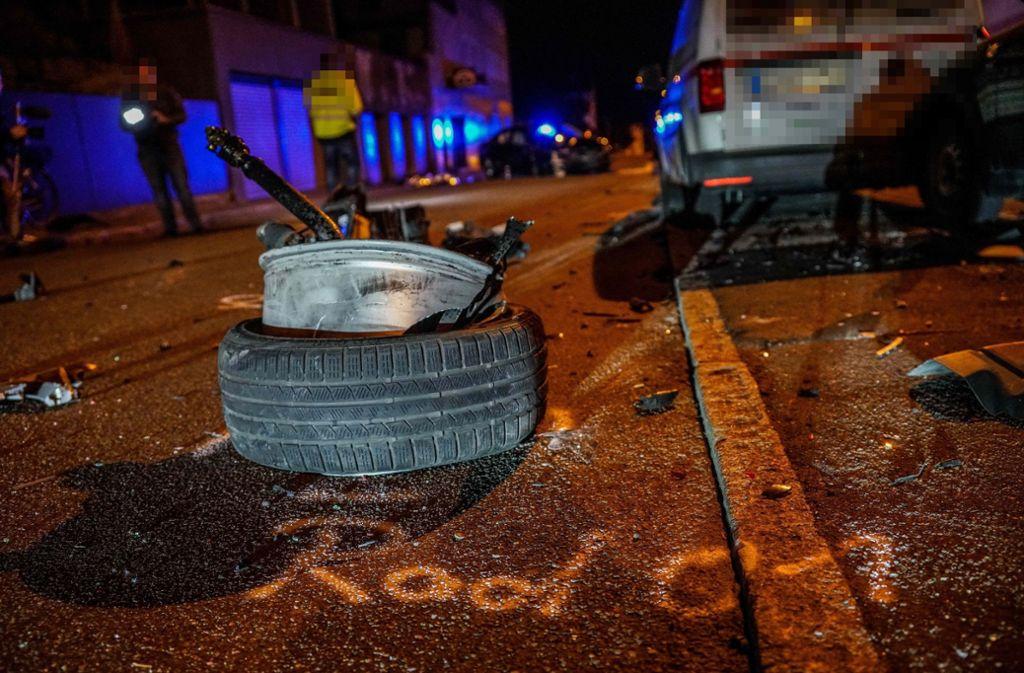 Der Schaden durch den Unfall wird auf 80.000 Euro geschätzt. Foto: SDMG