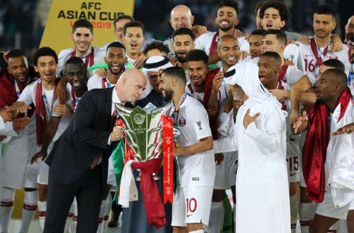 Umstrittener WM-Gastgeber Katar gewinnt Asien-Cup