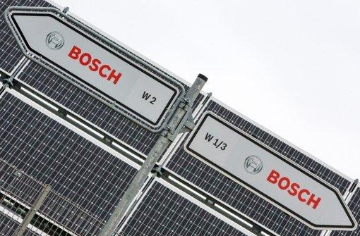 Bosch gibt Schuld im Preis-Kartell zu