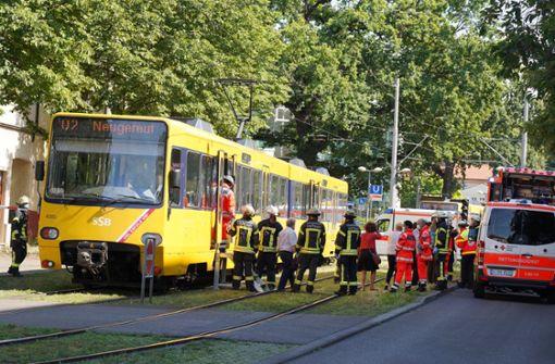 80-Jähriger von Stadtbahn überrollt und tödlich verletzt