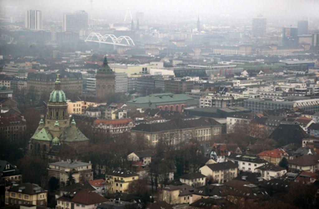 Mannheim hat in der Statistik 23.500 Einwohner verloren. Foto: dpa
