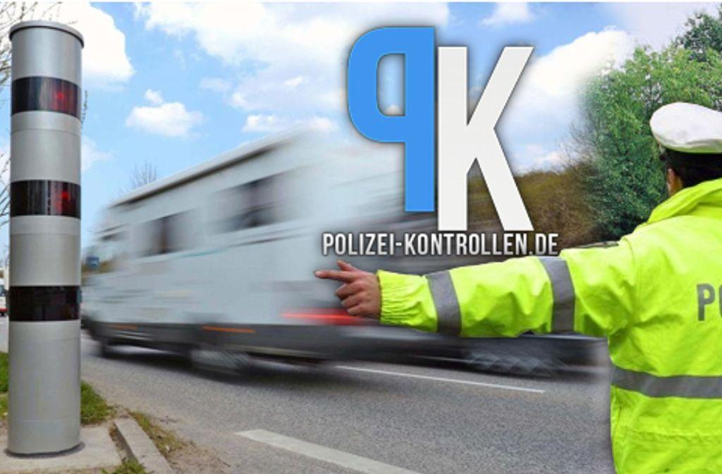 """Die App """"Polizeikontrollen"""" hilft  Verkehrsteilnehmern, Blitzer und Staus frühzeitig zu erkennen. Foto: poko-app.de"""