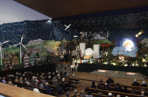 Ein Aktomkraftwerk in der Kirche