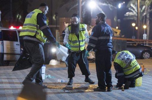 Blutige Anschläge erschüttern Israel