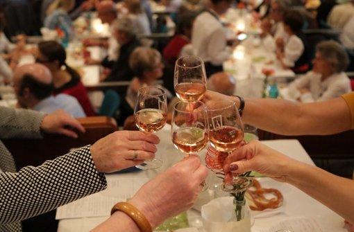 Tausend Gäste bei der Weinprobe